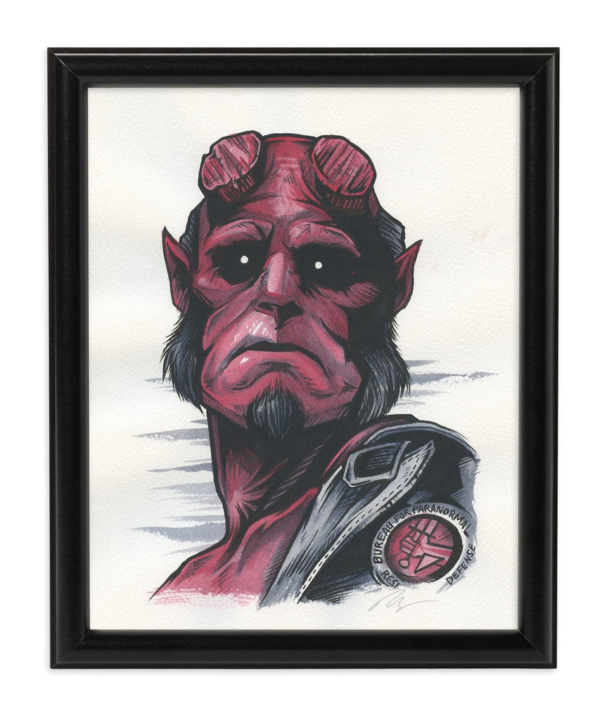 Hellboy (Watercolor)