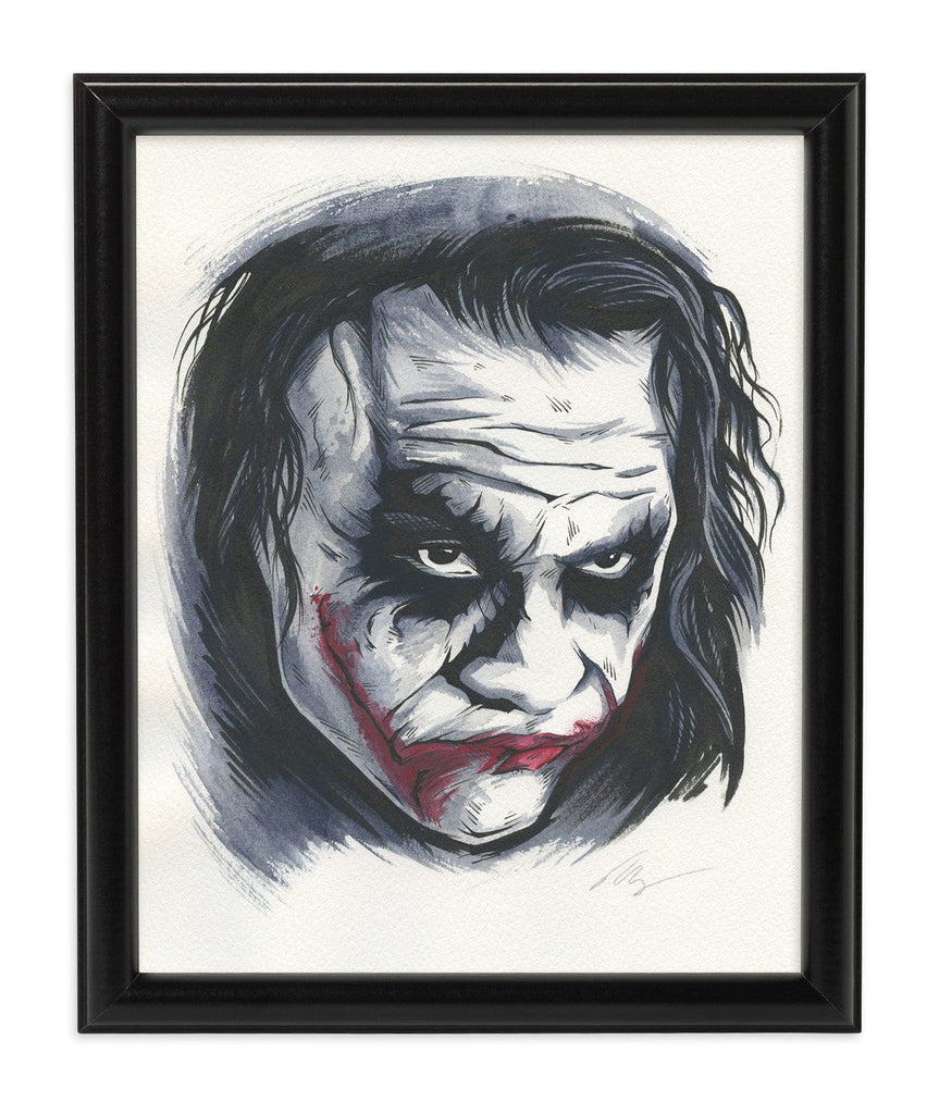 Joker '09 (Watercolor)