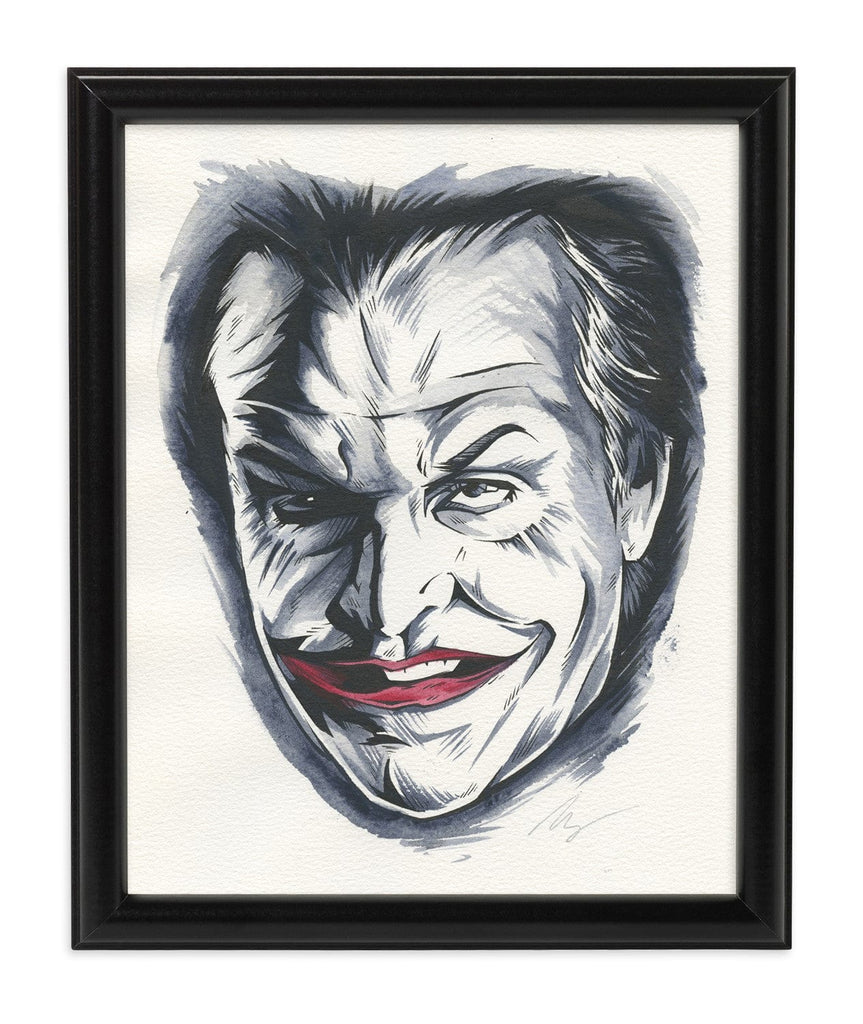 Joker '89 (Watercolor)