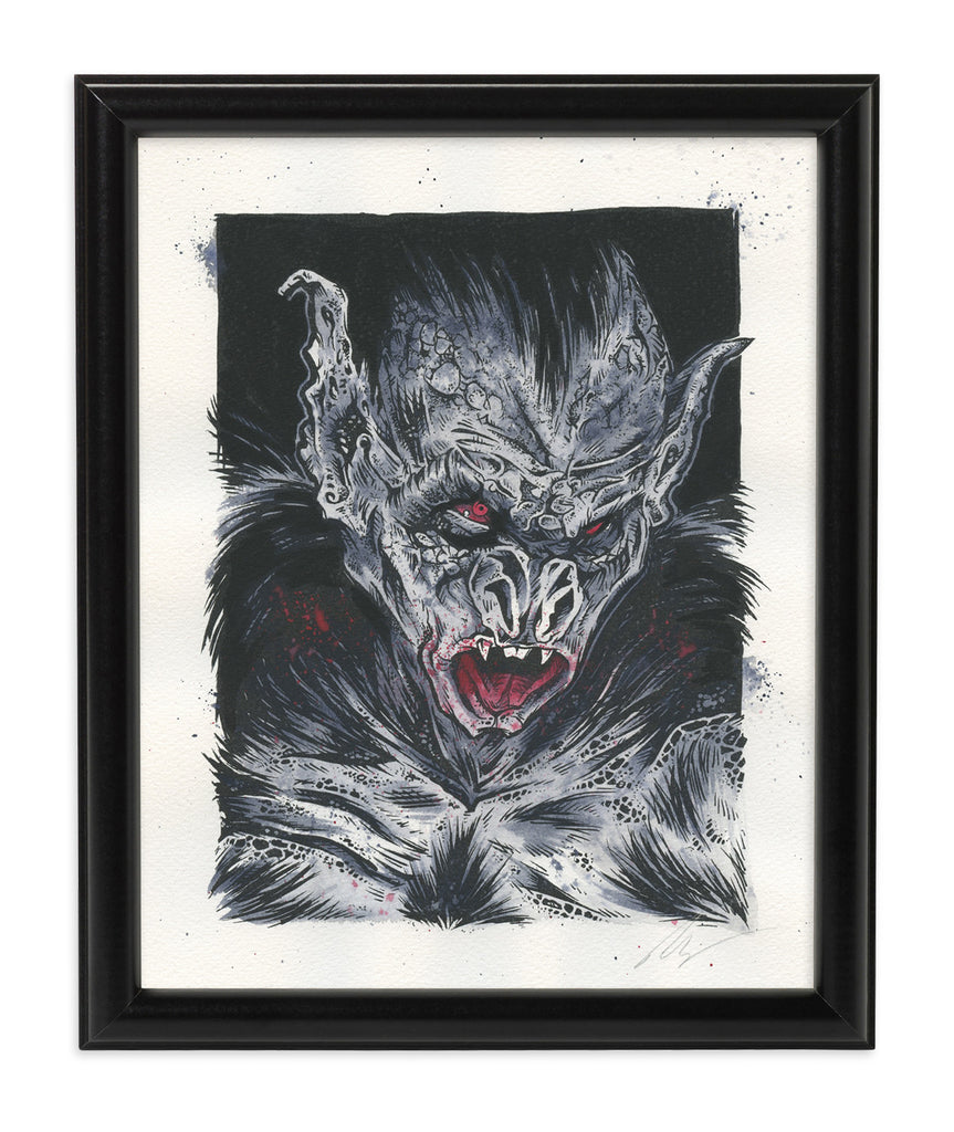 Vampire Bat (Watercolor)