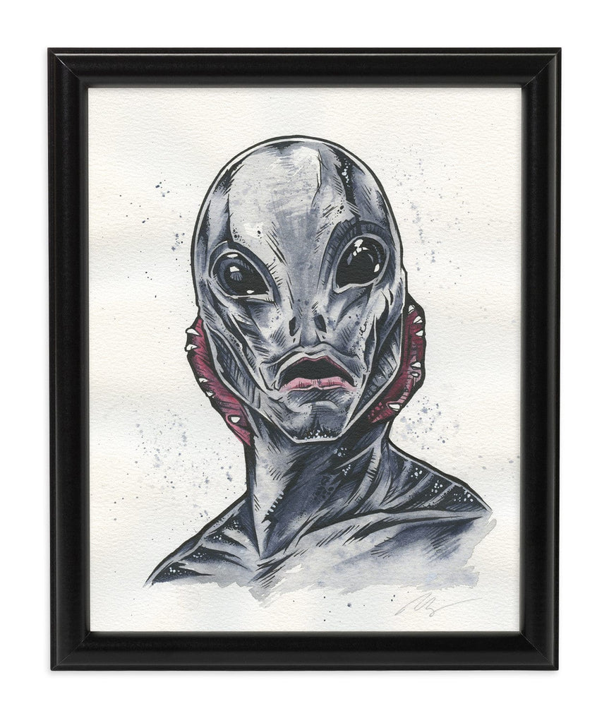 Abe Sapien (Watercolor)