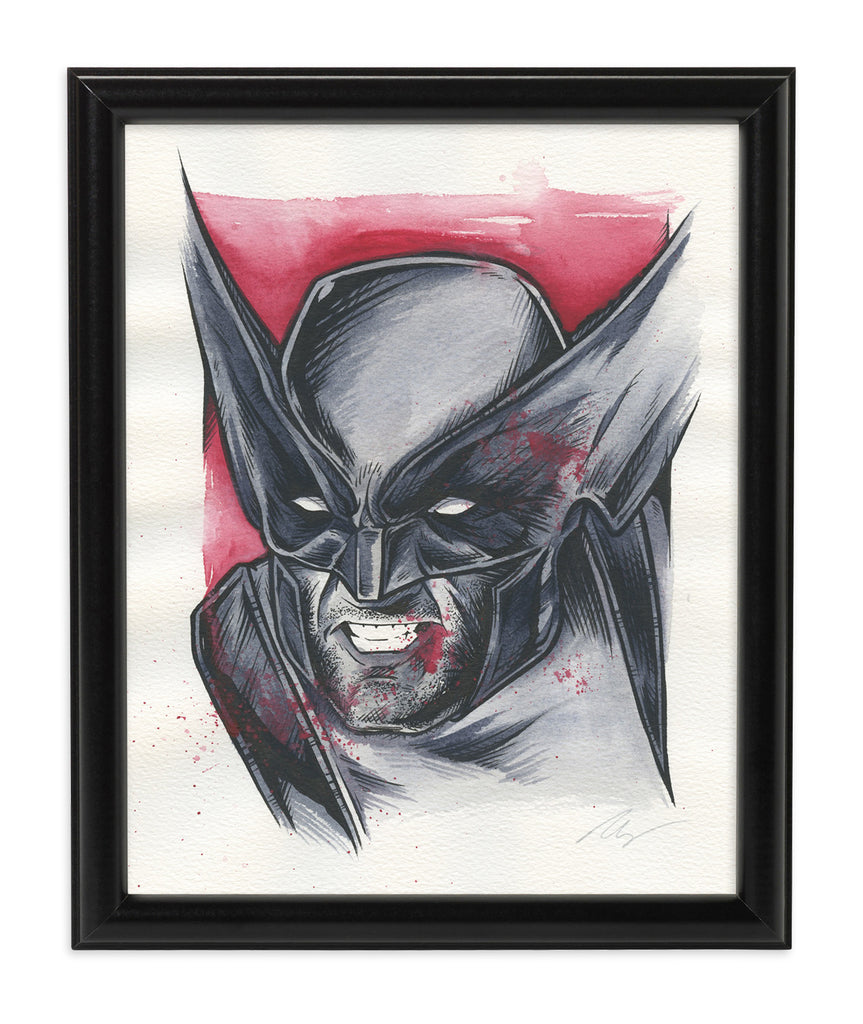Wolverine (Watercolor)