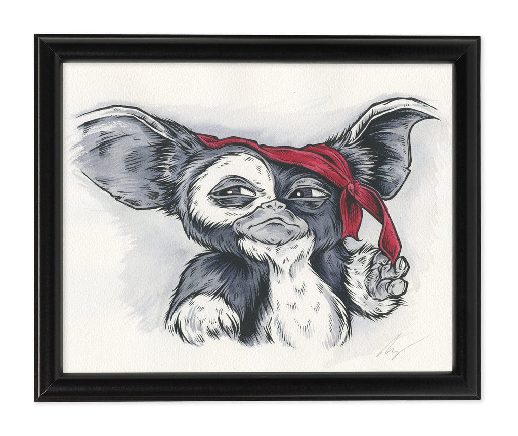 Gizmo (Watercolor)