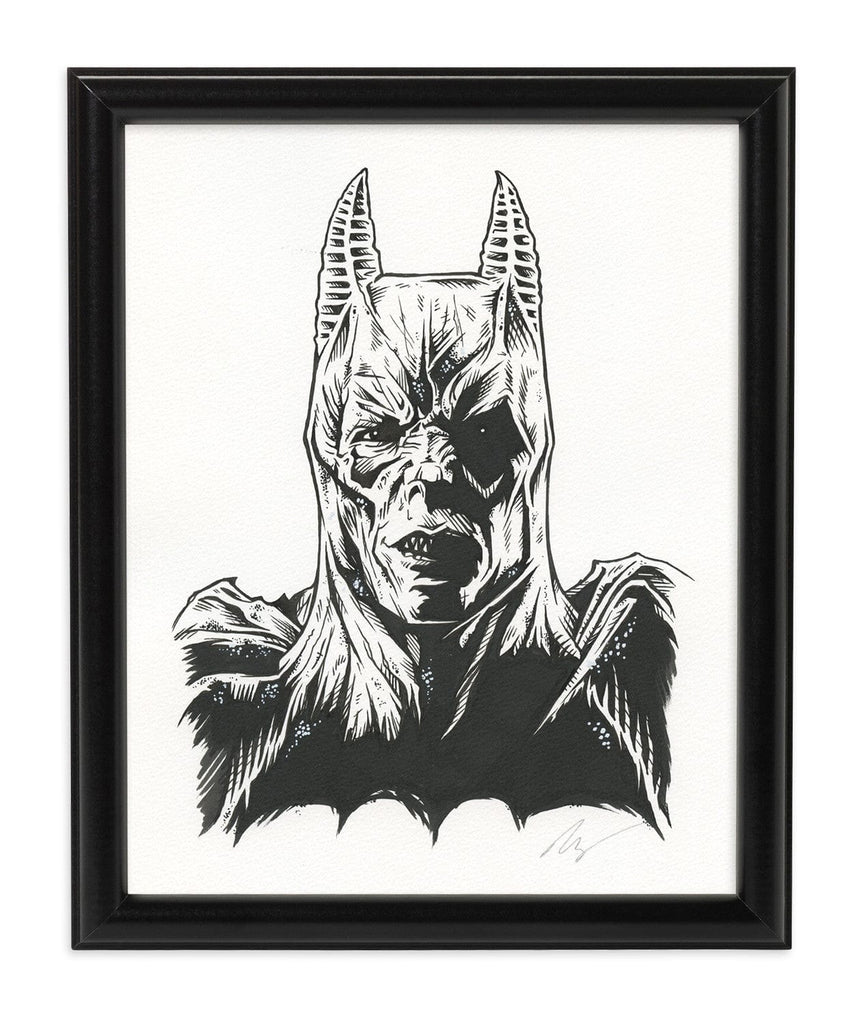 Demon Batman (Ink)