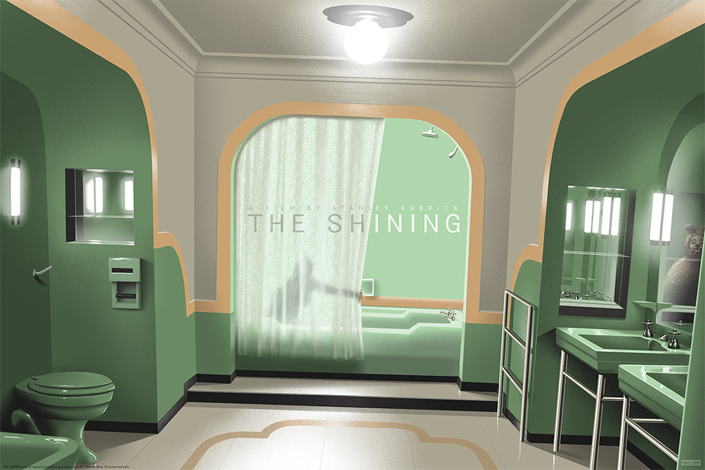 The Shining (Room 237) Screenprinted Poster