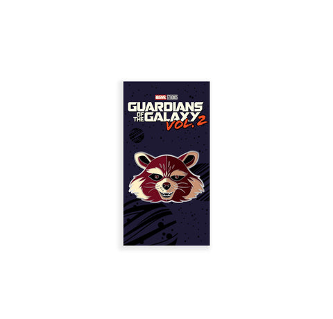 Rocket Raccoon Enamel Pin