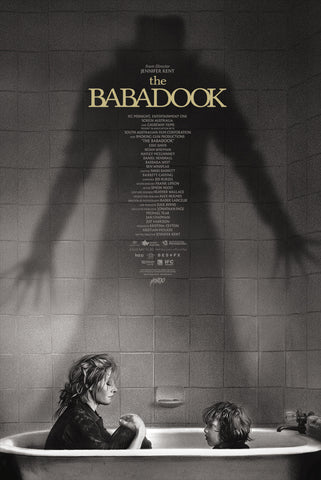 The Babadook Screenprinted Poster