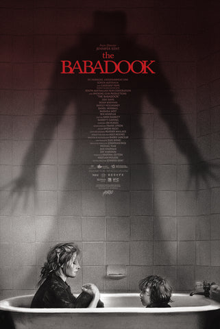 The Babadook (Variant) Screenprinted Poster