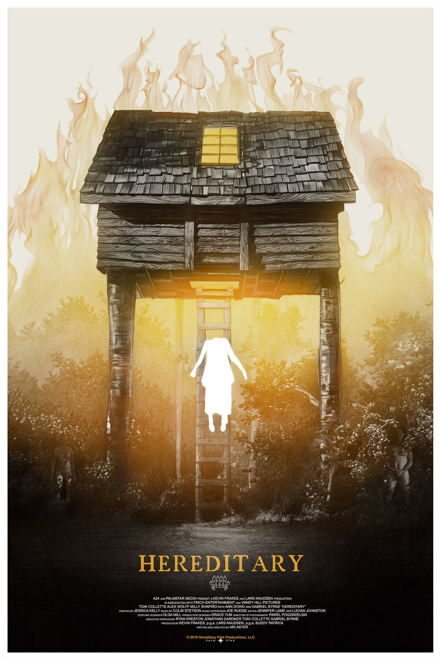 Greg Ruth HEREDITARY MONDO Poster Limited Edition of 300