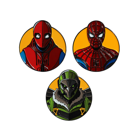 Spider-Man: Homecoming 3-Pin Set