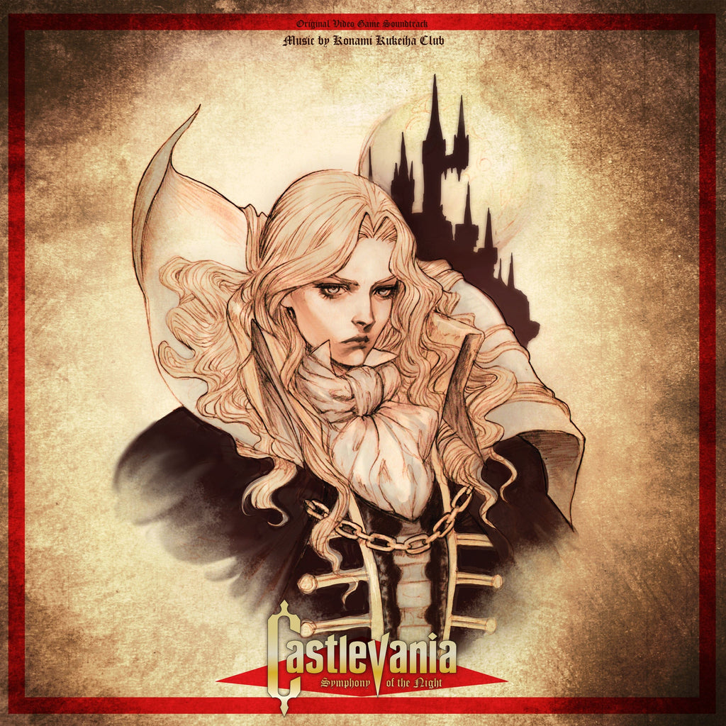 Castlevania: Symphony of the Night - Original Video Game Soundtrack 2XLP