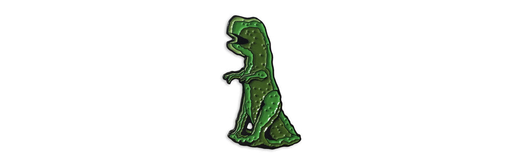 T-Rex Hedge Enamel Pin