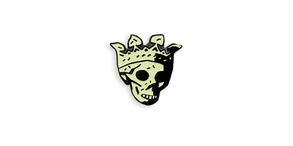 Mike Mignola's Death Head Enamel Pin
