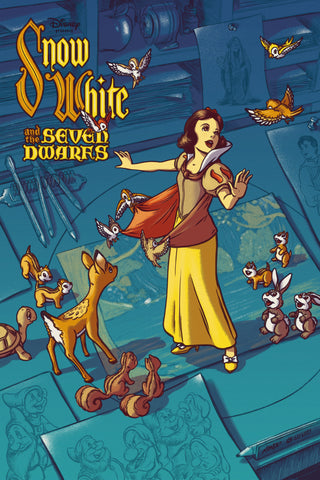 Mondo X Cyclops Print Works Print #08: Snow White and The Seven Dwarves