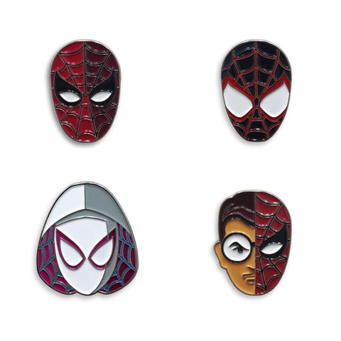 Spider-Verse Pin Set