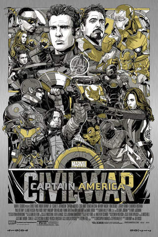 Captain America: Civil War (Vibranium Metal Variant)