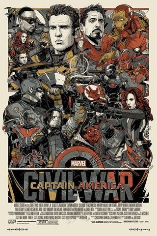 Captain America: Civil War (Variant)