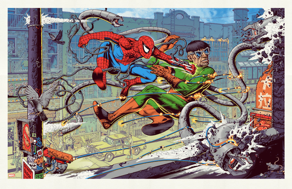 Spider-Man vs Doc Ock
