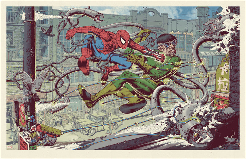 Spider-Man vs Doc Ock Variant