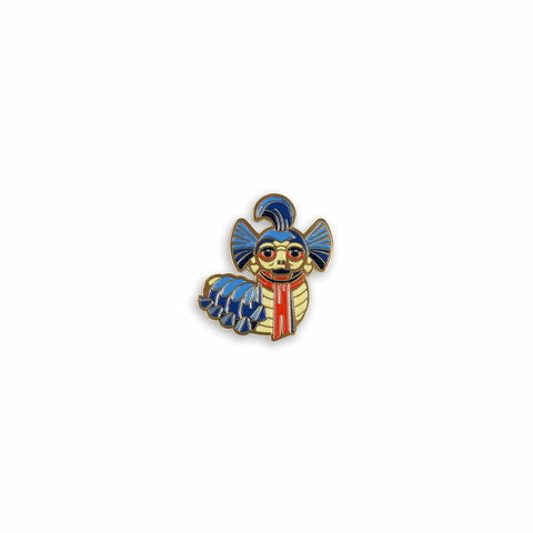 The Worm Enamel Pin (Pre-Order)