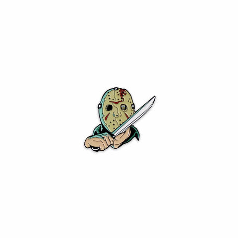 Friday the 13th Enamel Pin