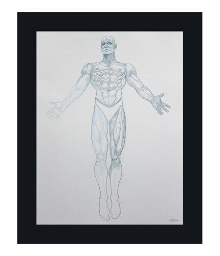 Dr Manhattan Pencils Kevin Tong OG