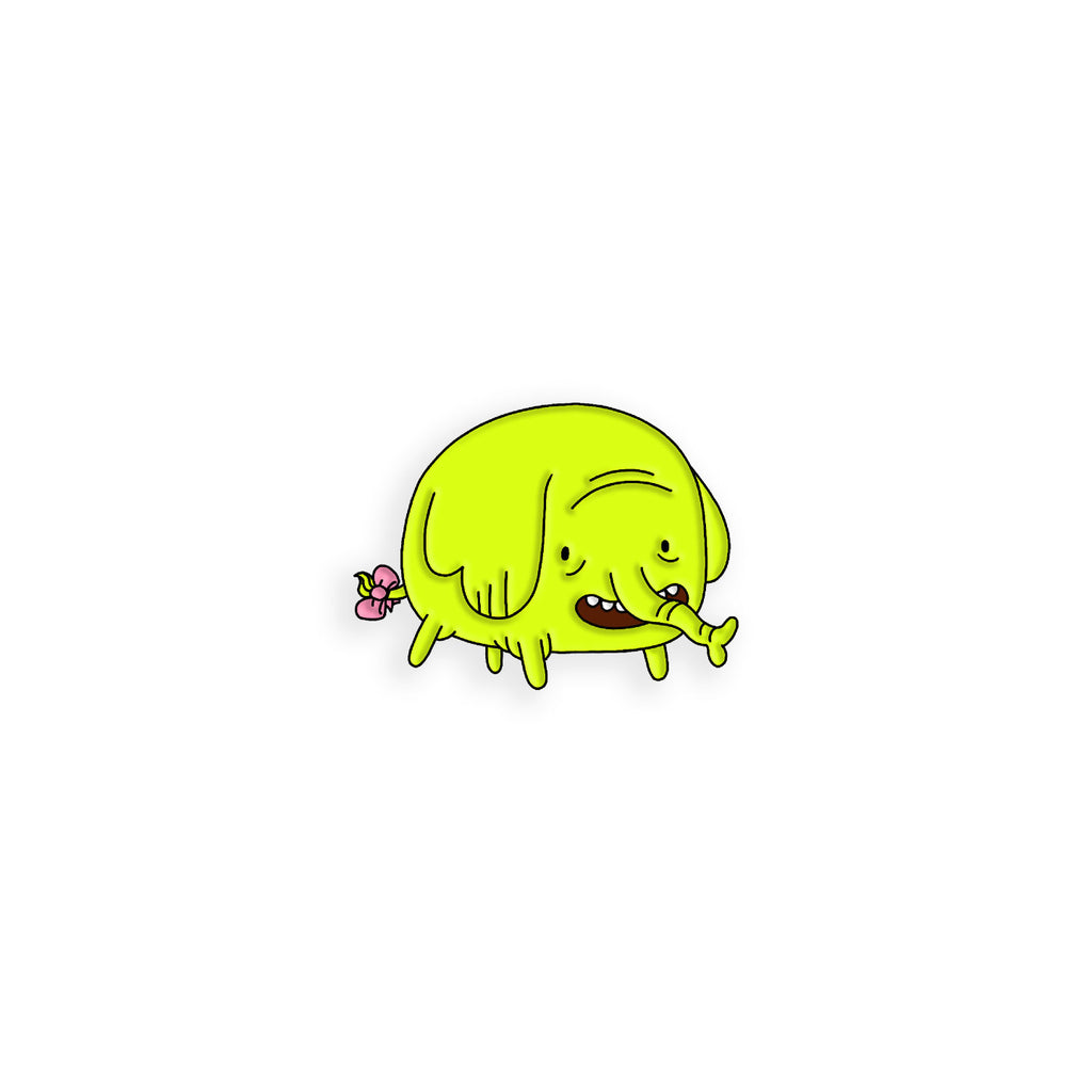 Tree Trunks Enamel Pin