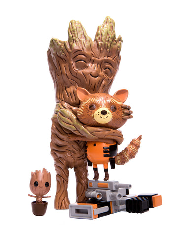 Rocket & Groot: Treehugger Vinyl Figure (Mondo Exclusive)