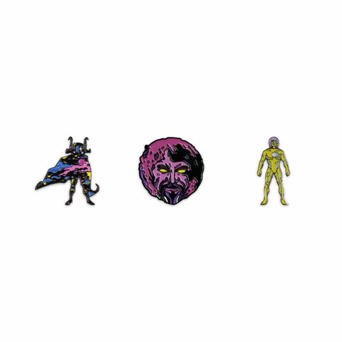 Marvel Cosmic Entities Enamel Pin Set