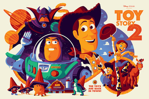 Toy Story 2 Screenprinted Poster