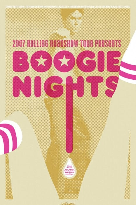 Boogie Nights Aesthetic Apparatus poster