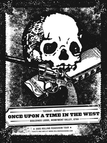 Once Upon A Time In The West Aesthetic Apparatus poster