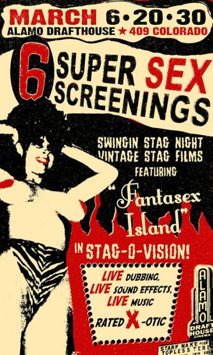 6 Super Sex Screenings Noel Waggener poster