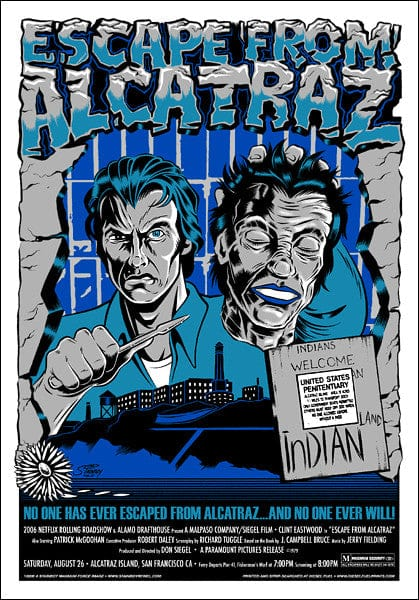 Escape From Alcatraz Stainboy poster