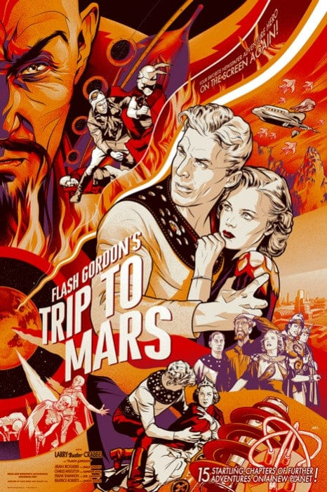 Flash Gordon 1938 Serial Martin Ansin poster
