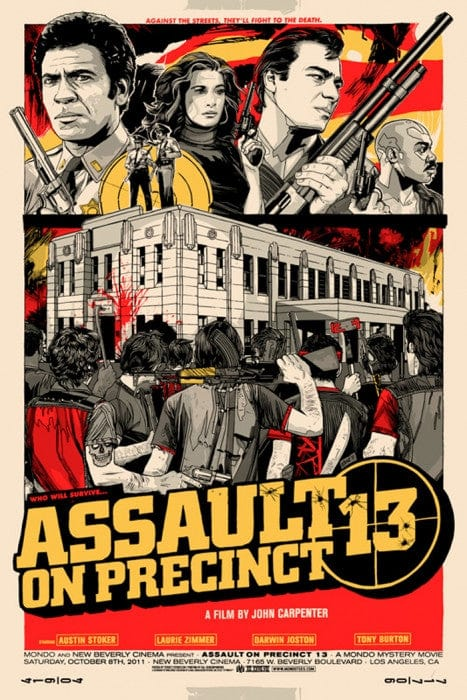 Assault on Precinct 13 Tyler Stout poster