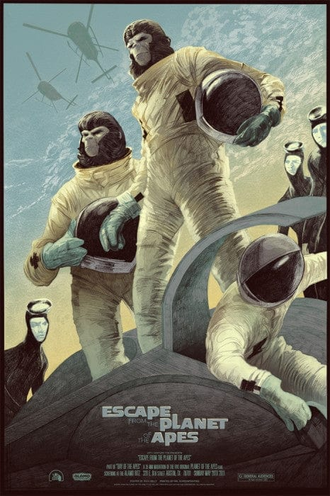 Escape from the Planet of the Apes Rich Kelly poster