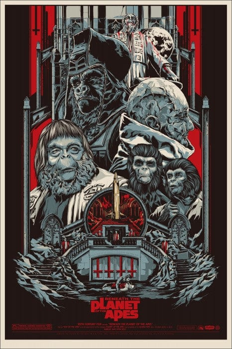 Beneath the Planet of the Apes Ken Taylor poster