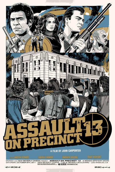 Assault on Precinct 13   Variant Tyler Stout poster