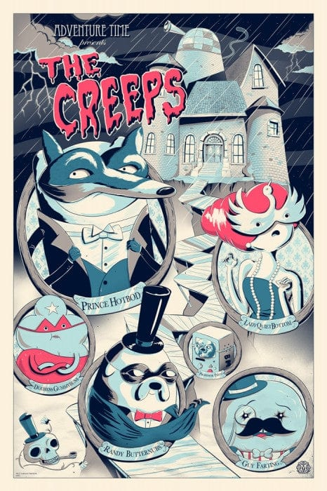 Adventure Time - The Creeps - Variant