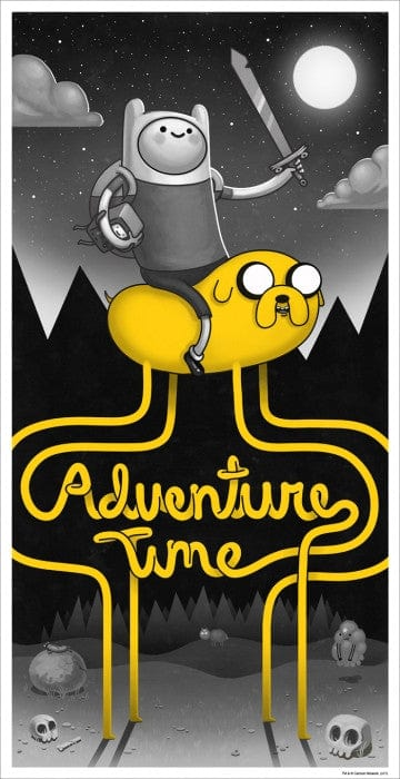 Adventure Time Mike Mitchell poster