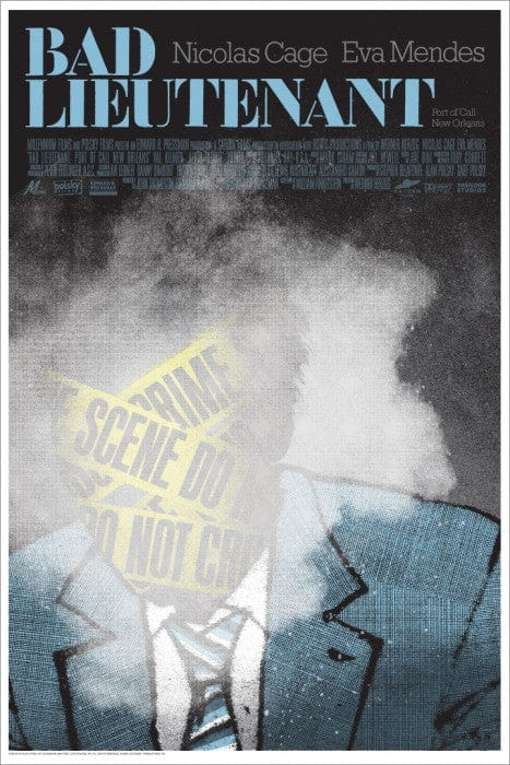 Bad Lieutenant Port of Call New Orleans Alan Hynes poster