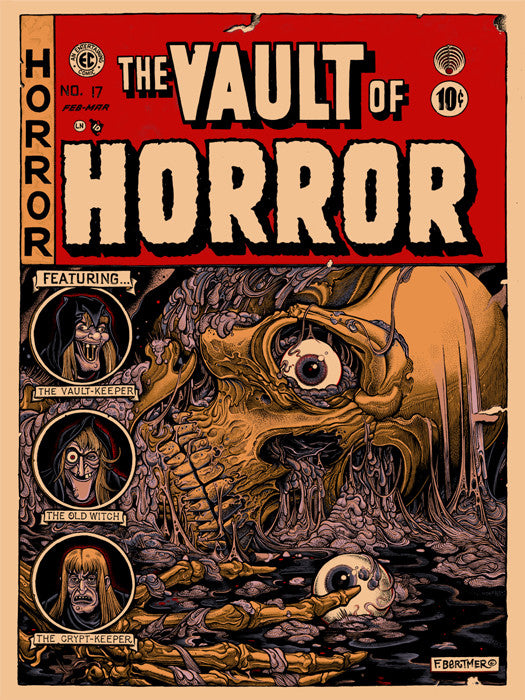 Vault of Horror Florian Bertmer poster