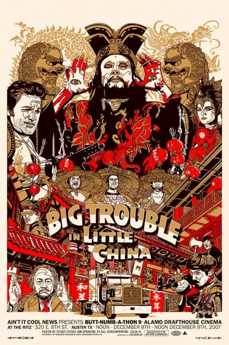 Big Trouble In Little China Tyler Stout poster