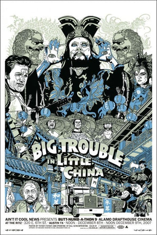 Big Trouble In Little China  Variant Tyler Stout poster