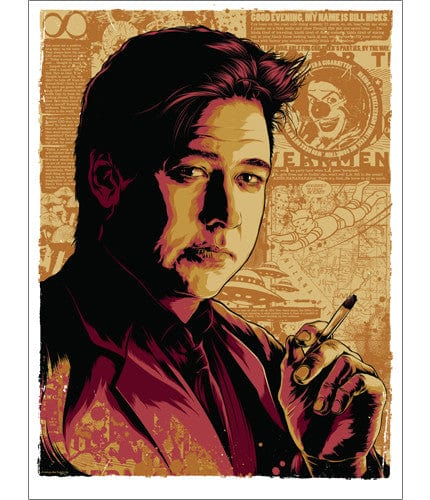 Bill Hicks Ken Taylor poster