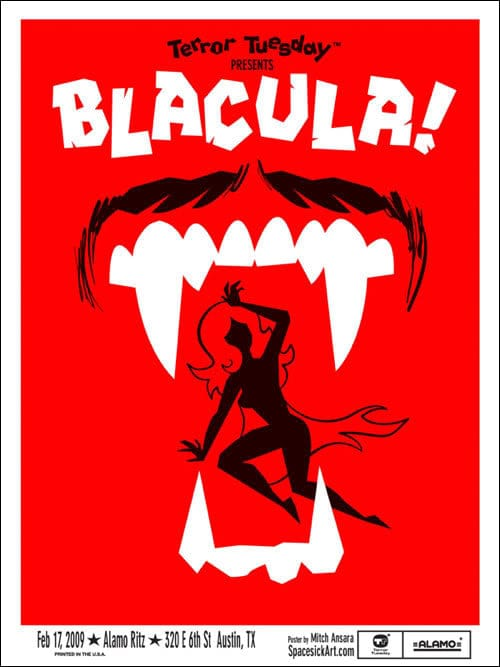 Blacula Spacesick poster