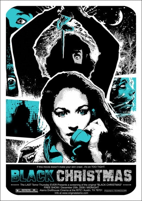 Black Christmas James Rheem Davis poster