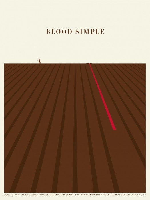 Blood Simple Jason Munn poster