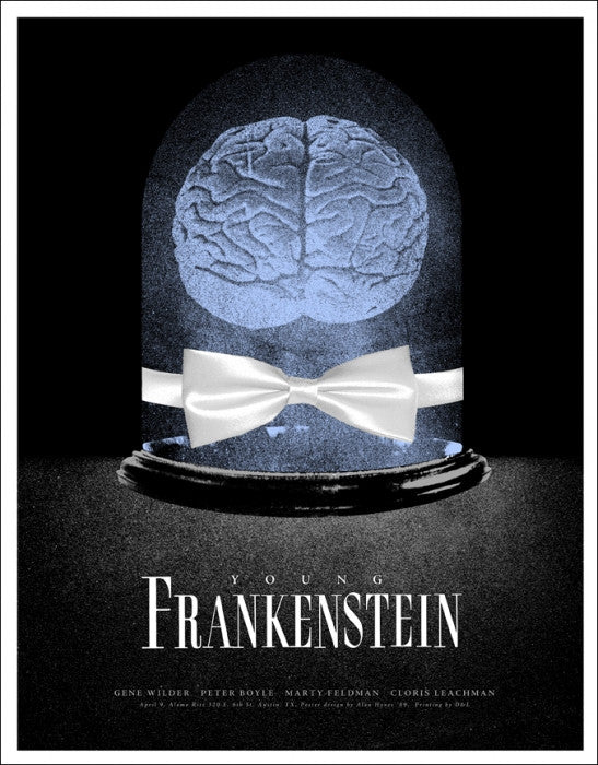 Young Frankenstein  Variant Alan Hynes poster